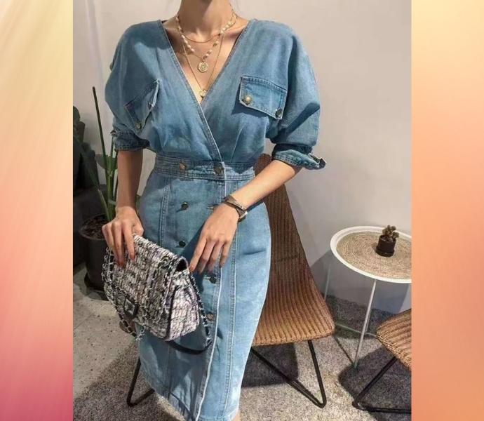 Джинсовые платья как главный тренд осени 2021