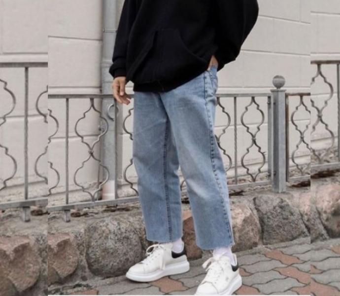 Широкие мужские джинсы фото