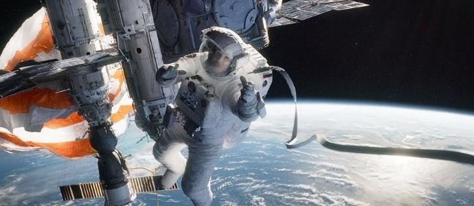 Кадр из фильма Gravity (2013)