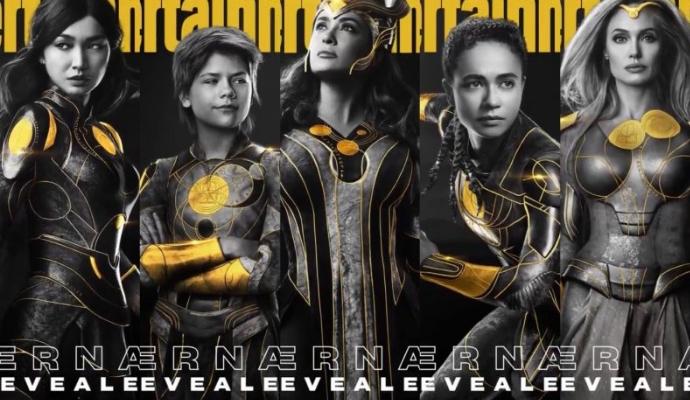 Обложки журналов Entertainment Weekly с персонажами Вечных