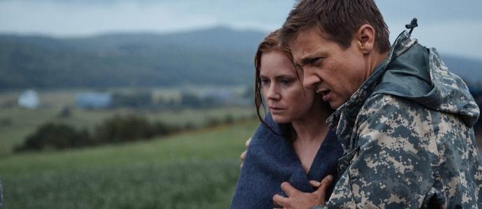 Кадр из фильма Arrival (2016)