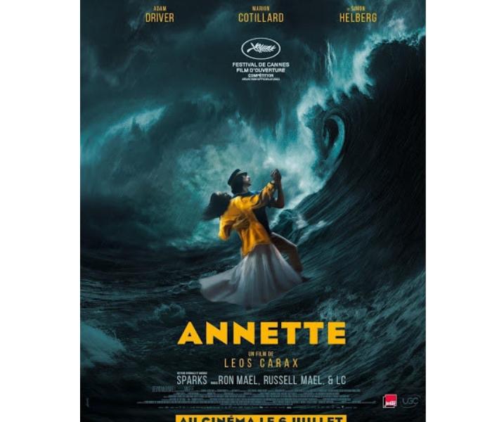 Официальный постер к фильму Аннетт